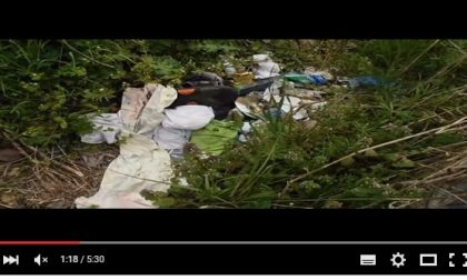 Abbandono rifiuti in località Boschetti