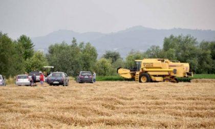Asola, incidente. Grave agricoltore