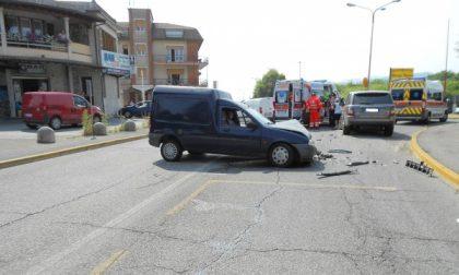 Bedizzole, incidente tra 4 veicoli. Un ferito