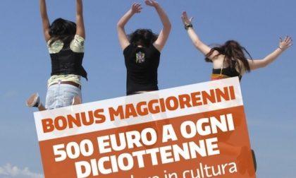 Bonus cultura, 500 euro ai 18enni