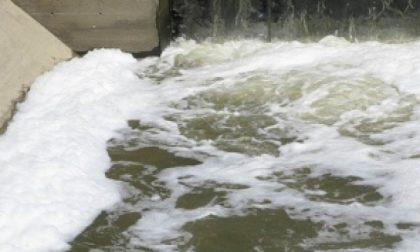 Castiglione,schiuma in acqua: indagini in corso