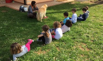 Successo per la pet therapy alla «Angela Volpi»