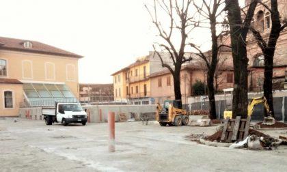 DIMENTICATOIO: a Ghedi cantiere ancora aperto per la piazzetta  Arcioni, promessa per giugno 2016
