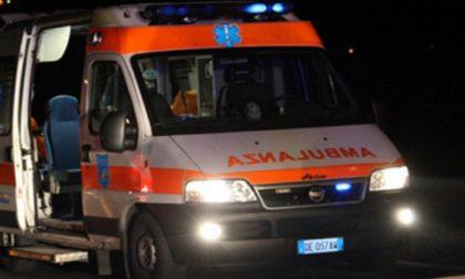 Frontale a Ghedi, una donna in gravi condizioni