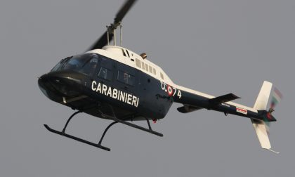 Furti e rapine, si mobilita anche l'elicottero