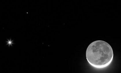 Gennaio saluta con la congiunzione Luna - Venere - Marte