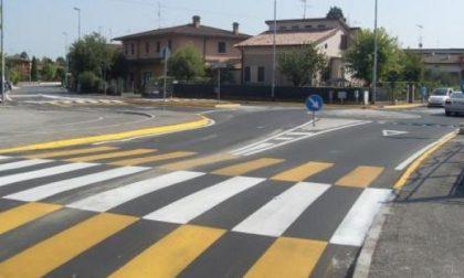 Ghedi:Terminata la realizzazione della rotatoria in via Matteotti