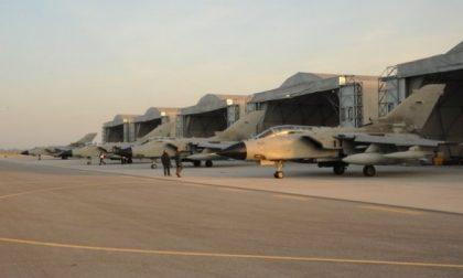 Ghedi, i tornado stanno rientrando dall'Iraq