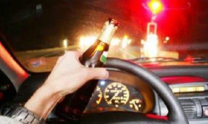 Guidava ubriaco, denunciato
