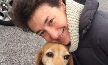 Il cagnolino Lara rirovato grazie al giornale
