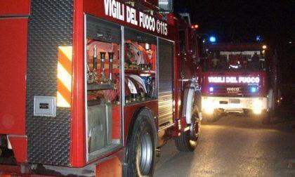 Incendio a Calvisano, una casa distrutta dalle fiamme