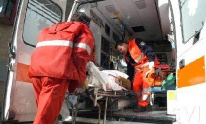 Incidente sul lavoro: schiacciato in cabina