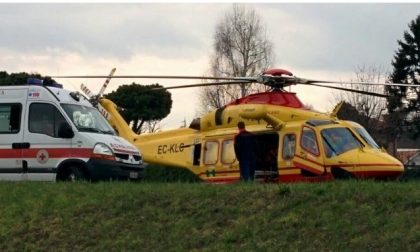 Incidente tra  Montichiari e Lonato, due feriti