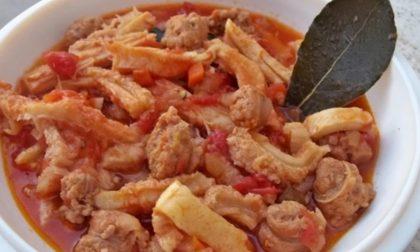 LA RICETTA: trippa con borlotti e parmigiano