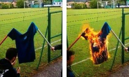 Lonato, tifosi danno fuoco a maglia della Rovizza