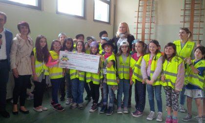 La 3C di Ponte San Marco vince il concorso Piedibus