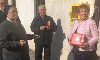La famiglia Orsucci dona il terzo defibrillatore