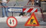 Via Canossi da oggi strada chiusa per lavori in corso
