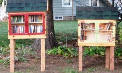 Le«Little free library» approdano a Calvisano