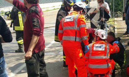 Monteclarensi in aiuto dei vigili del fuoco