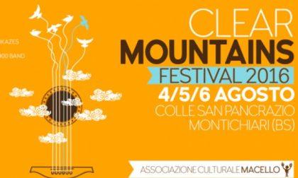 Montichiari, arriva Clear Mountains Festival