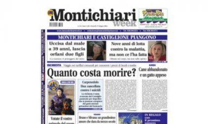 MontichiariWeek, prima pagina 17 giugno