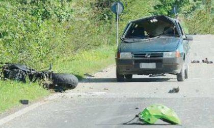 Moto contro auto, muore 50enne di Ghedi