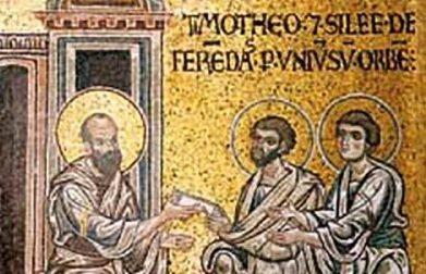 Oggi Santi Timoteo e Tito. Auguri a chi compie l'onomastico.