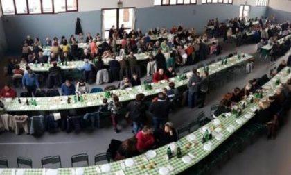 Oltre 300 persone alla tavola del «Grimm»