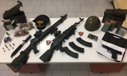 Porto abusivo di armi e munizioni, arrestato insospettabile italiano