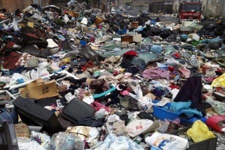 Immagine generica tema rifiuti