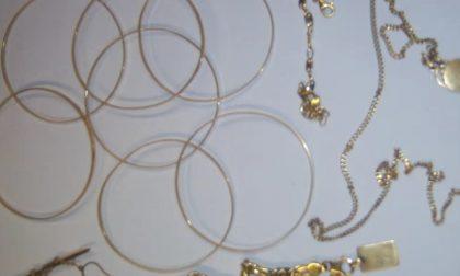 Rubato oro e argento