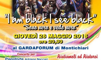 """""""Sono nero e vedo nero"""" in scena al Gardaforum"""