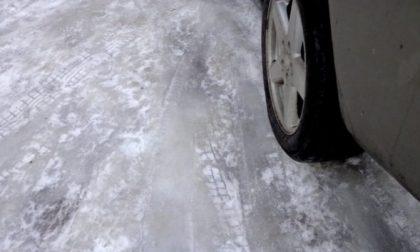 Strade ghiacciate, raffica di incidenti