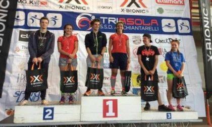 Sul podio del Triathlon anche l'asolana Elisa Pastorio