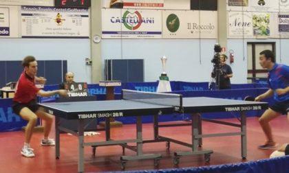 Tennis tavolo Castel Goffredo campione d'Italia