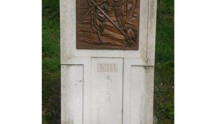 Vandali, blasfemia sull'ottava della via Crucis