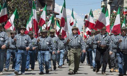7mila alpini veronesi per l'adunata di Treviso