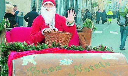 A Salò arriva Babbo Natale sulla moto d'acqua