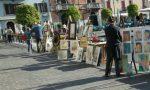 Artisti «en plein air» sul lungolago