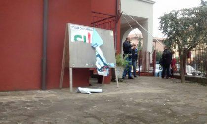 Desenzano: clamoroso atto vandalico alla sede PD