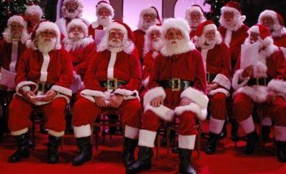 Garda, invasione di babbi Natale