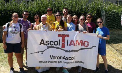 I giovani veronesi ad Ascoli per ricordare il terremoto
