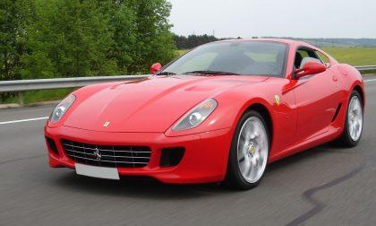 In Ferrari senza assicurazione, auto sequestrata