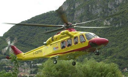 Incidente a Salò, grave un motociclista