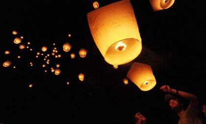 Lanterna cinese causa incendio