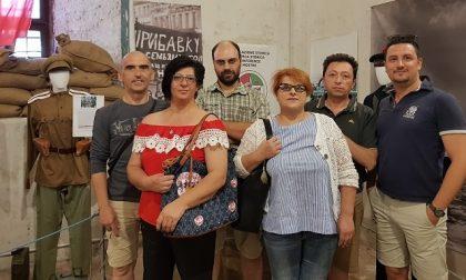 Le divise della storia in esposizione a Porta Brescia