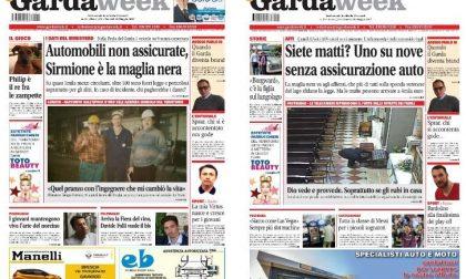 Le prime pagine di GardaWeek, edizione bresciana e veronese