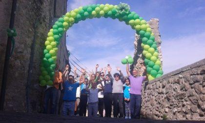 Manerba, palloncini per ricostruire lo storico arco
