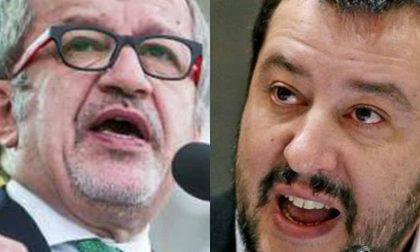 Maroni e Salvini in città